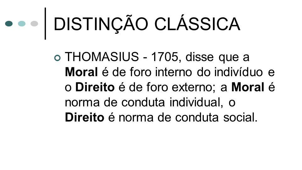 DISTINÇÃO CLÁSSICA