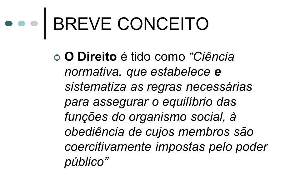 BREVE CONCEITO