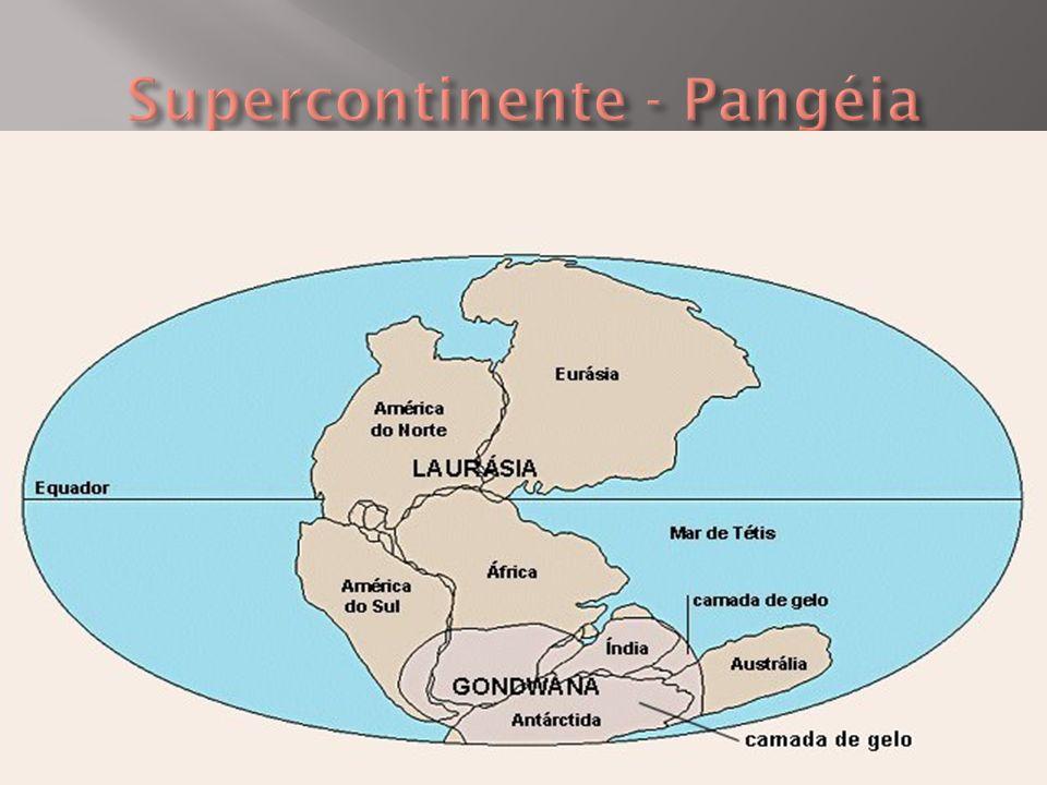 Supercontinente - Pangéia