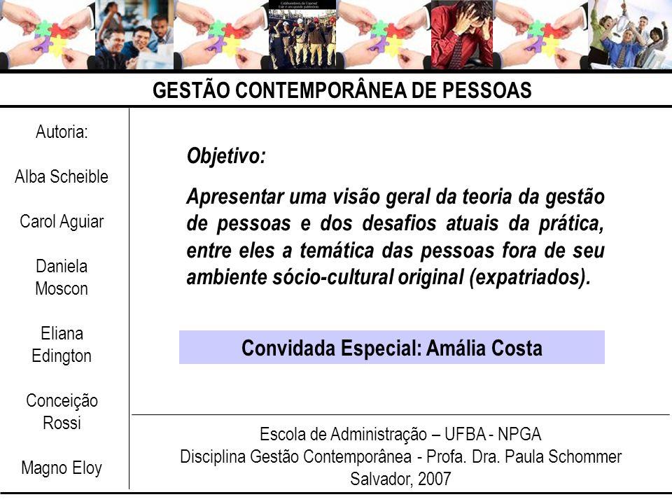 Convidada Especial: Amália Costa