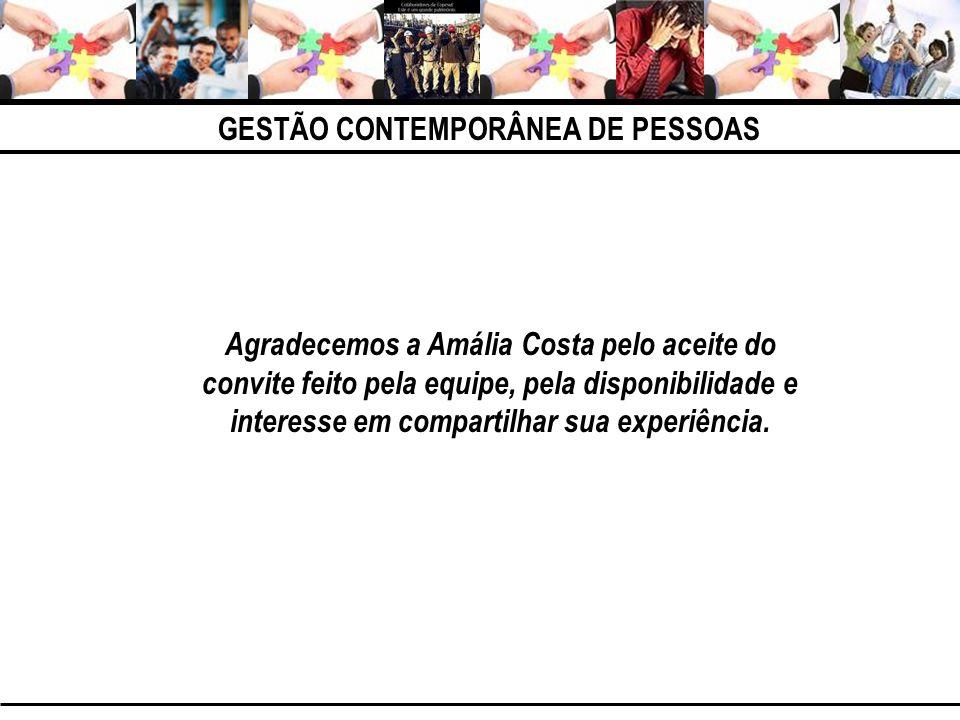 Agradecemos a Amália Costa pelo aceite do convite feito pela equipe, pela disponibilidade e interesse em compartilhar sua experiência.