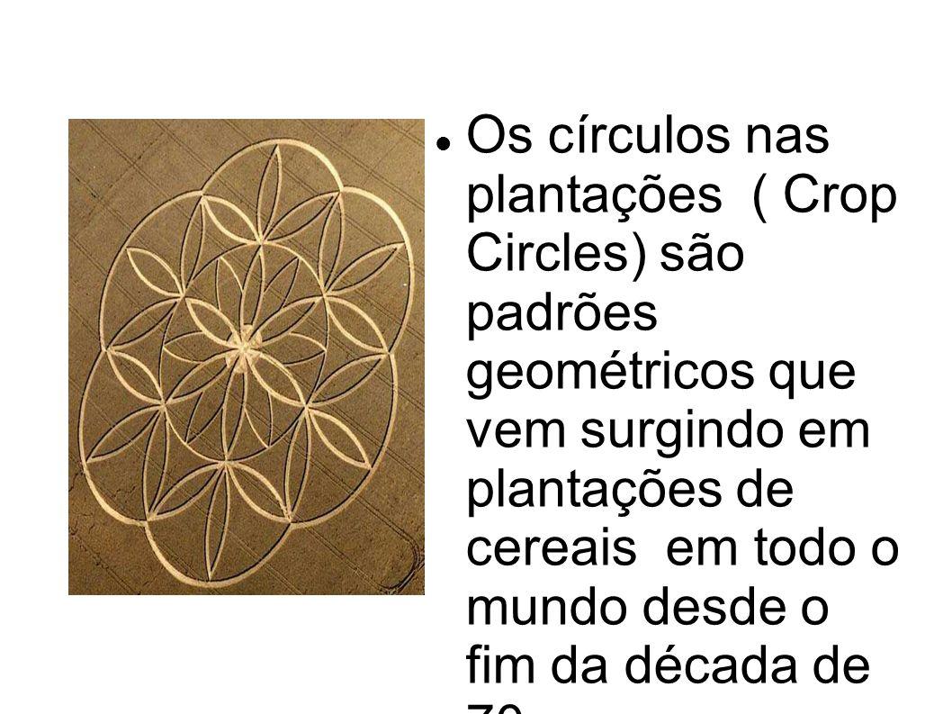 Os círculos nas plantações ( Crop Circles) são padrões geométricos que vem surgindo em plantações de cereais em todo o mundo desde o fim da década de 70.