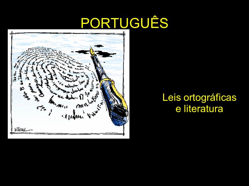 Leis ortográficas e literatura