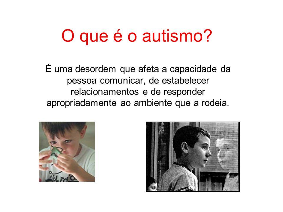 O que é o autismo