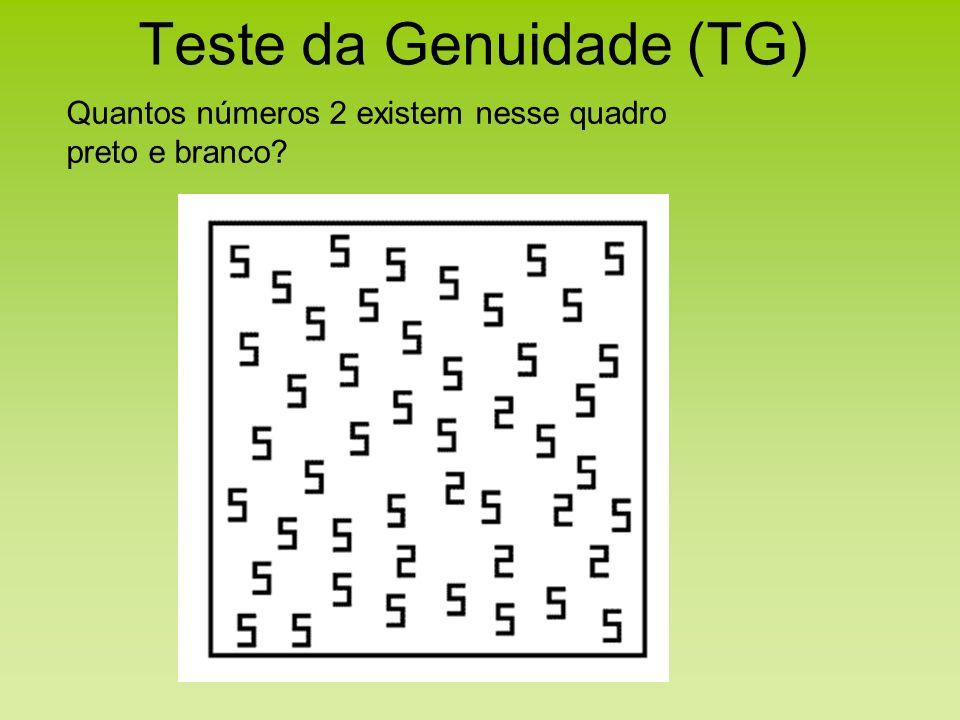 Teste da Genuidade (TG)