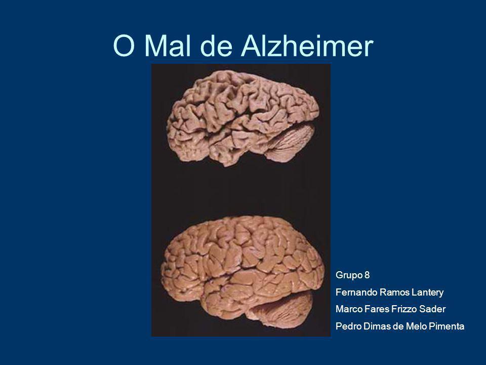 O Mal de Alzheimer Grupo 8 Fernando Ramos Lantery
