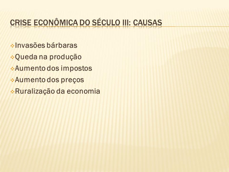 Crise econômica do século III: causas