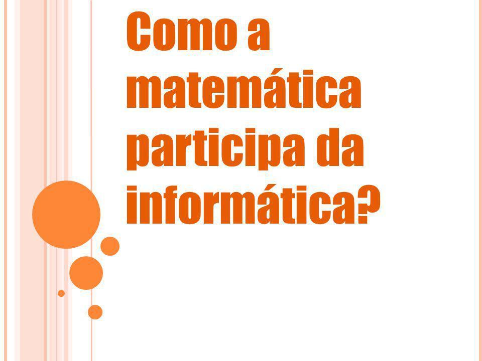 Como a matemática participa da informática