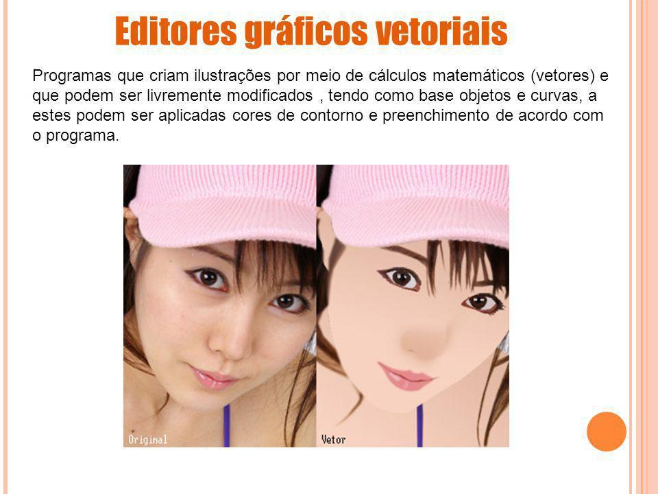 Editores gráficos vetoriais