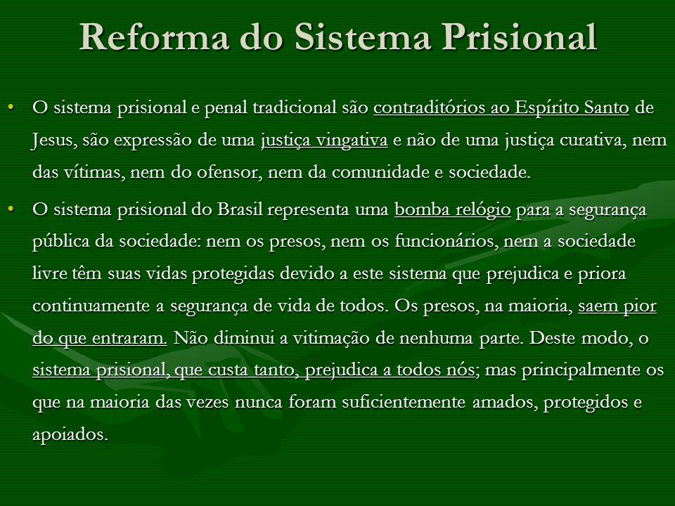 Reforma do Sistema Prisional