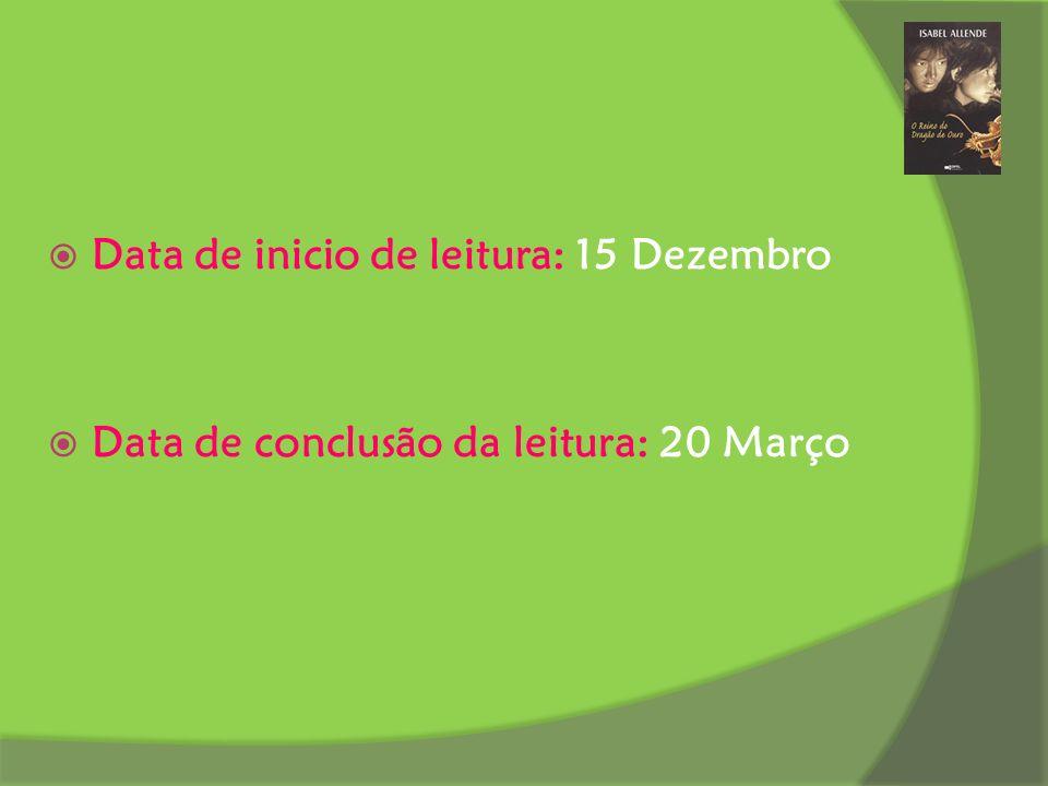 Data de inicio de leitura: 15 Dezembro