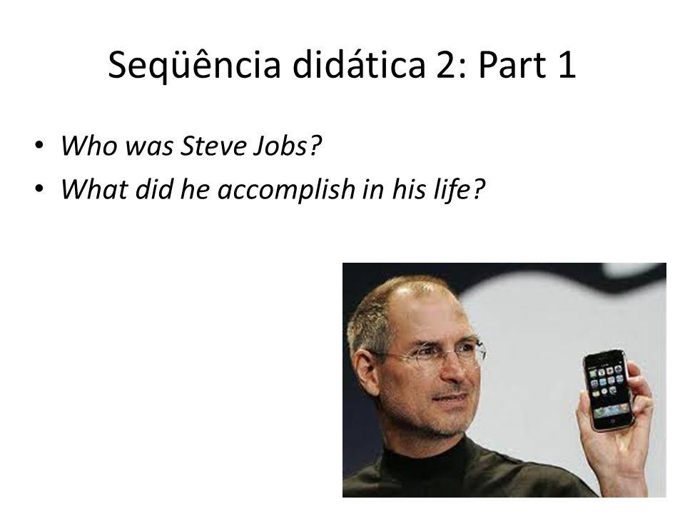 Seqüência didática 2: Part 1