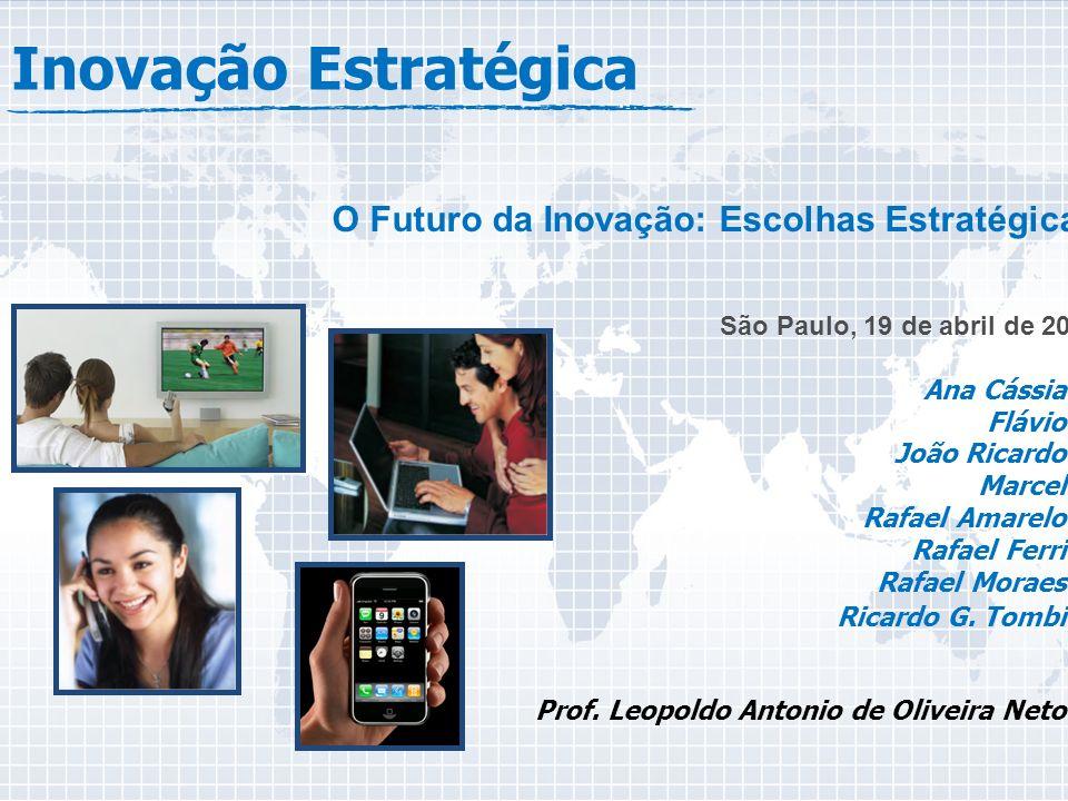 Inovação Estratégica O Futuro da Inovação: Escolhas Estratégicas