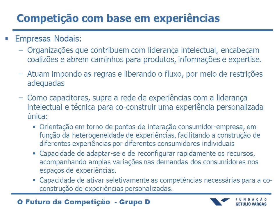 Competição com base em experiências