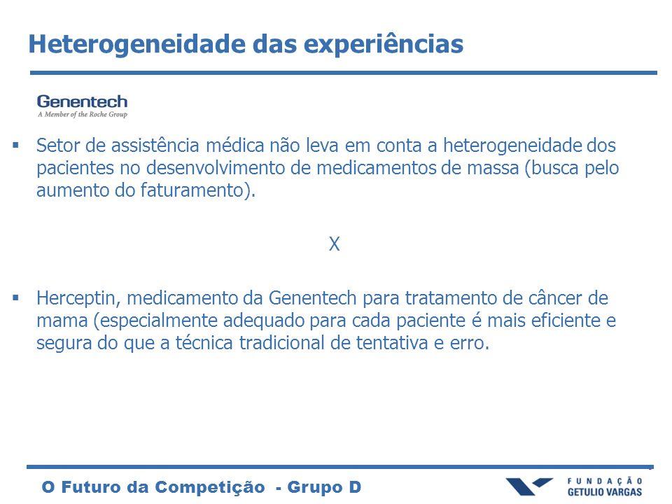 Heterogeneidade das experiências