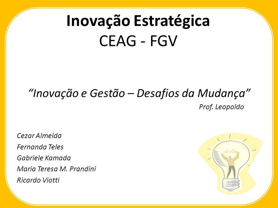 Inovação Estratégica CEAG - FGV