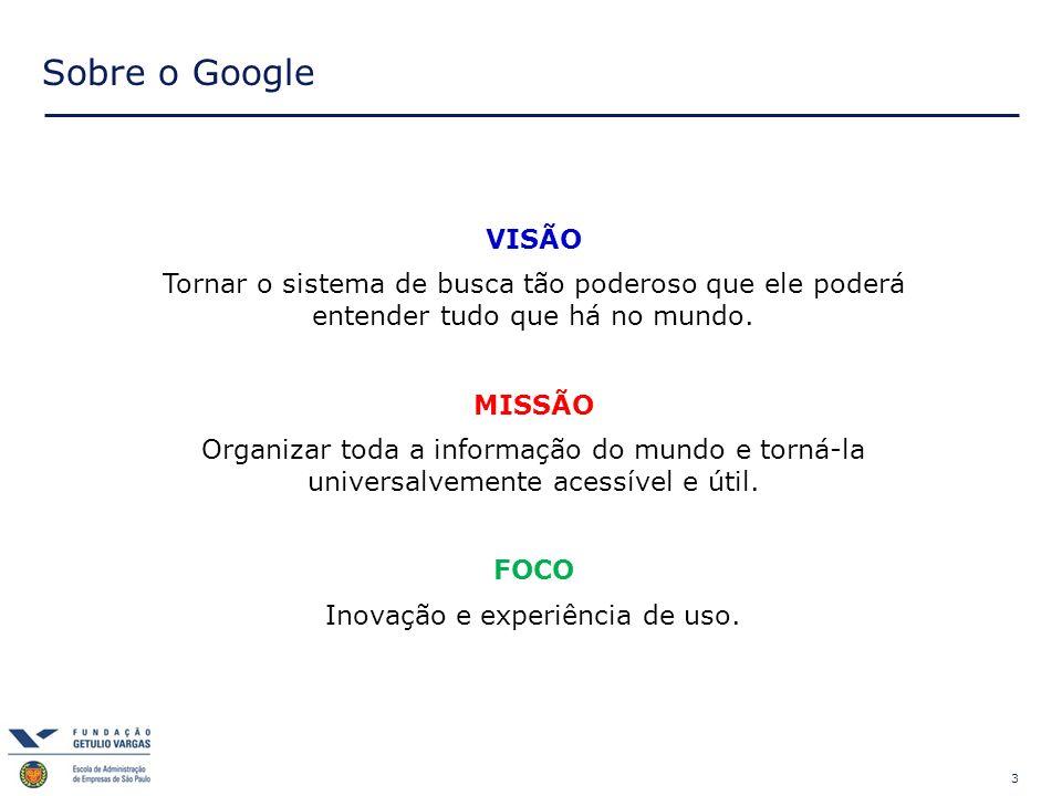 Inovação e experiência de uso.