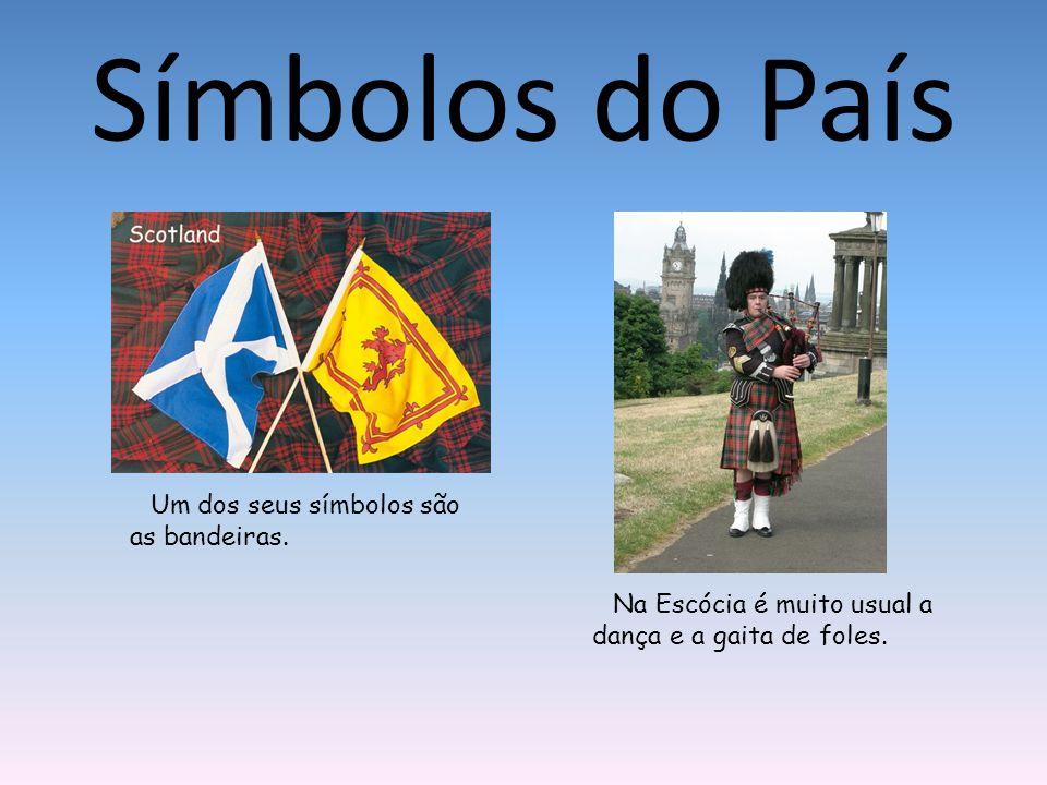 Símbolos do País Um dos seus símbolos são as bandeiras.