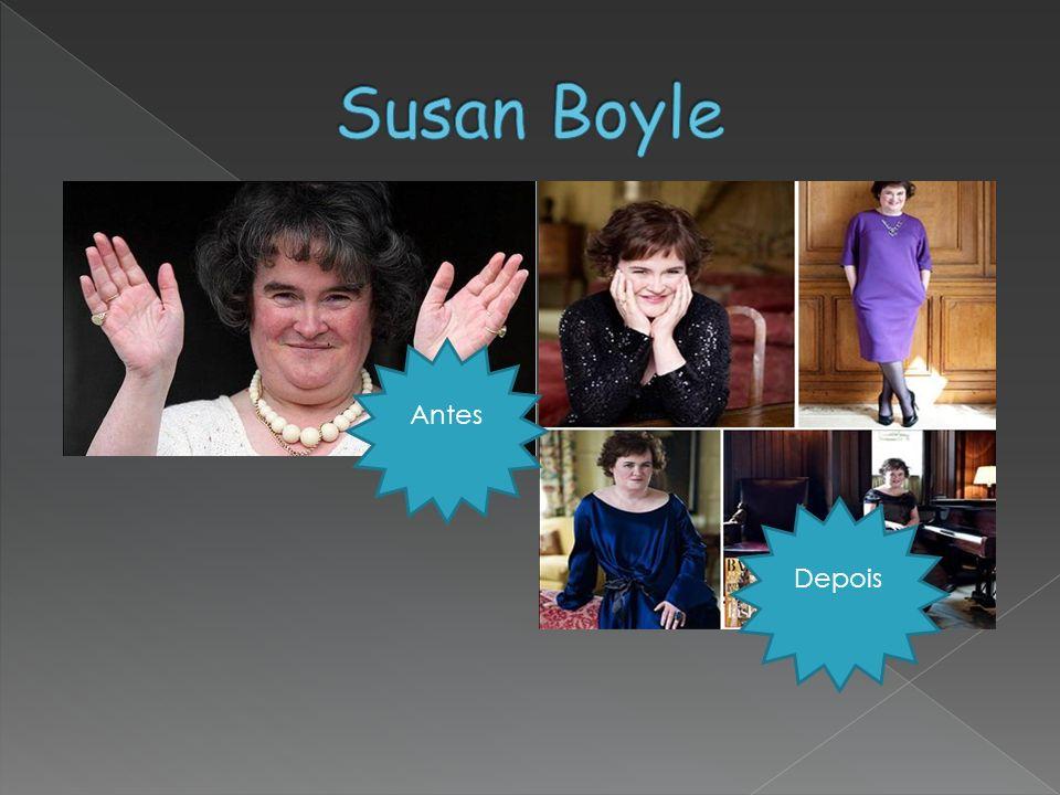 Susan Boyle Antes Depois