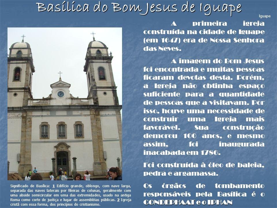 Basílica do Bom Jesus de Iguape