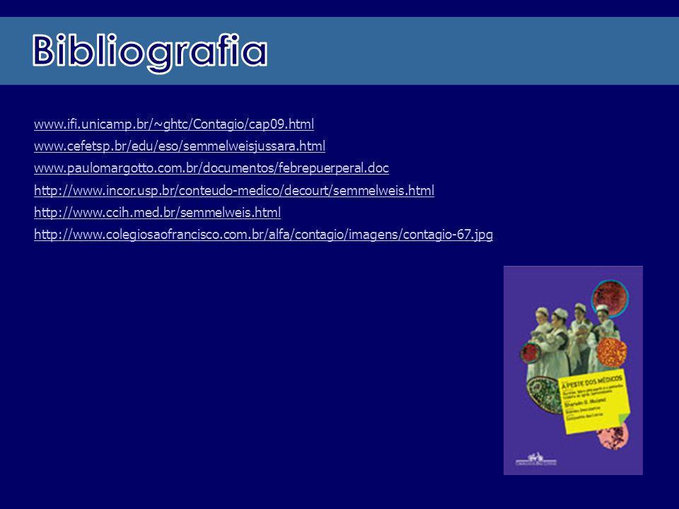 Bibliografia www.ifi.unicamp.br/~ghtc/Contagio/cap09.html