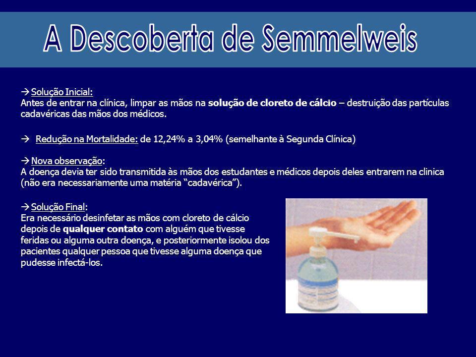 A Descoberta de Semmelweis