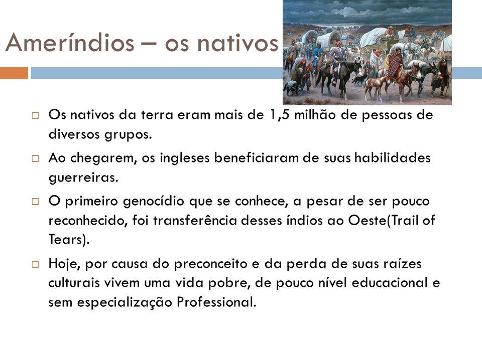 Ameríndios – os nativos