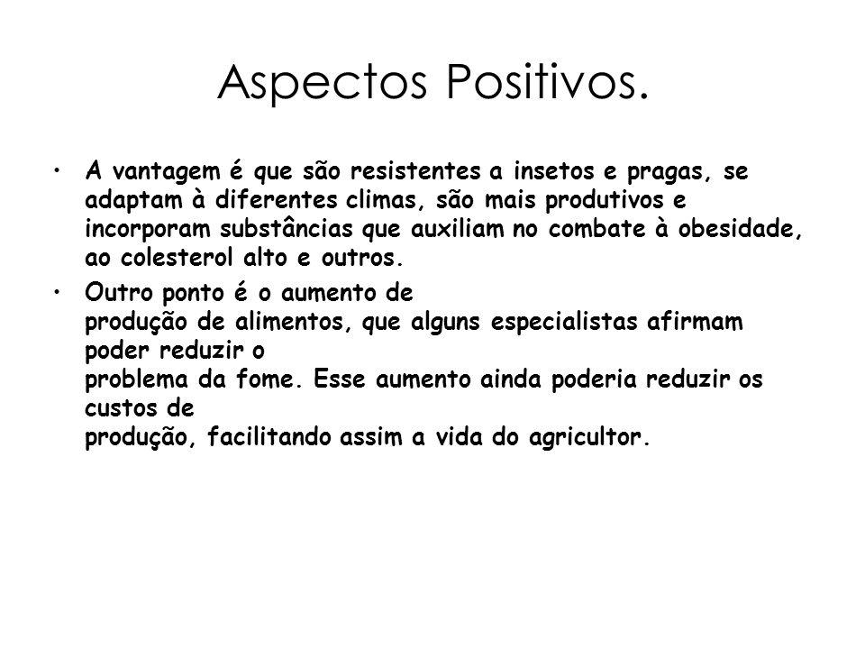 Aspectos Positivos.