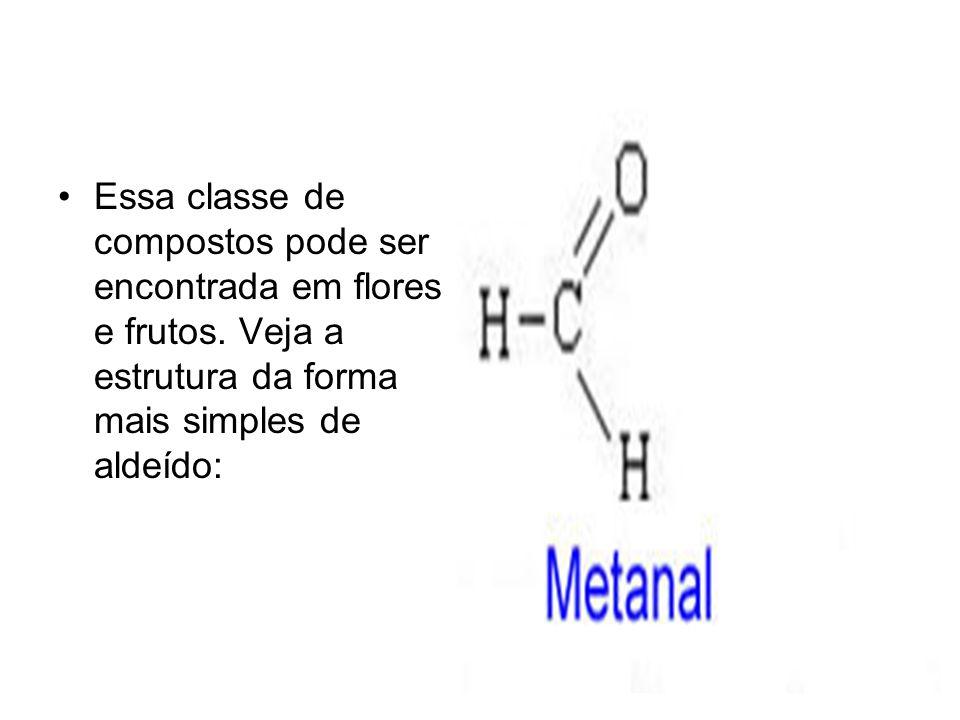 Essa classe de compostos pode ser encontrada em flores e frutos