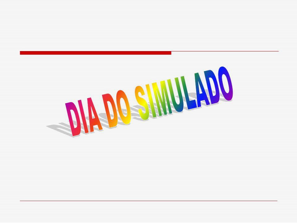 DIA DO SIMULADO