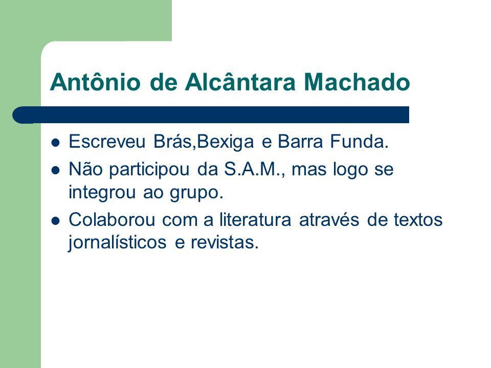 Antônio de Alcântara Machado