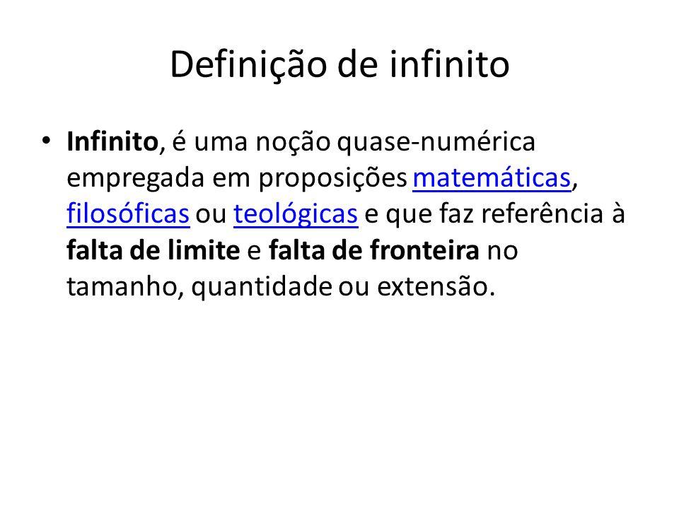Definição de infinito