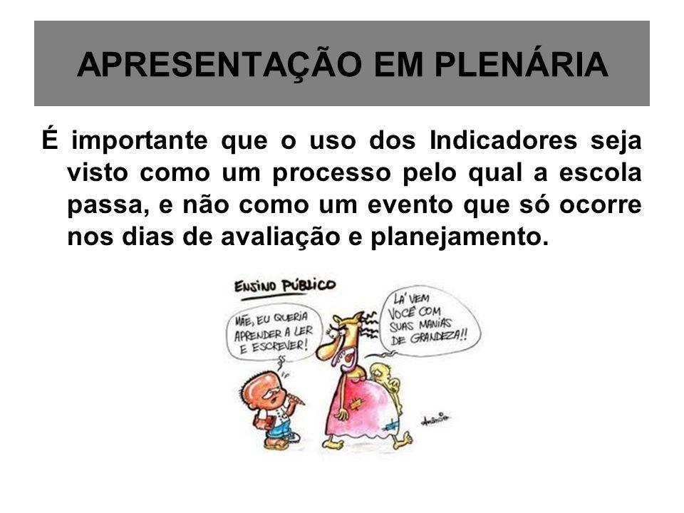 APRESENTAÇÃO EM PLENÁRIA
