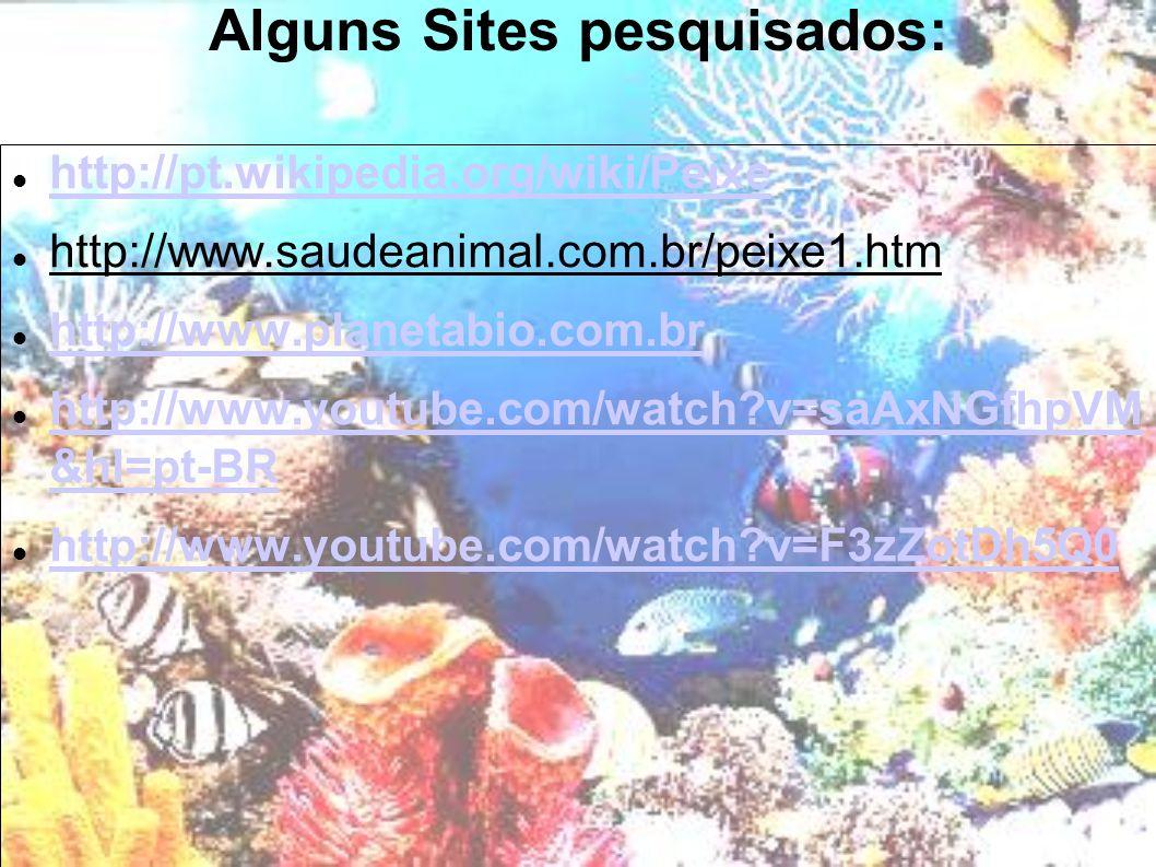 Alguns Sites pesquisados:
