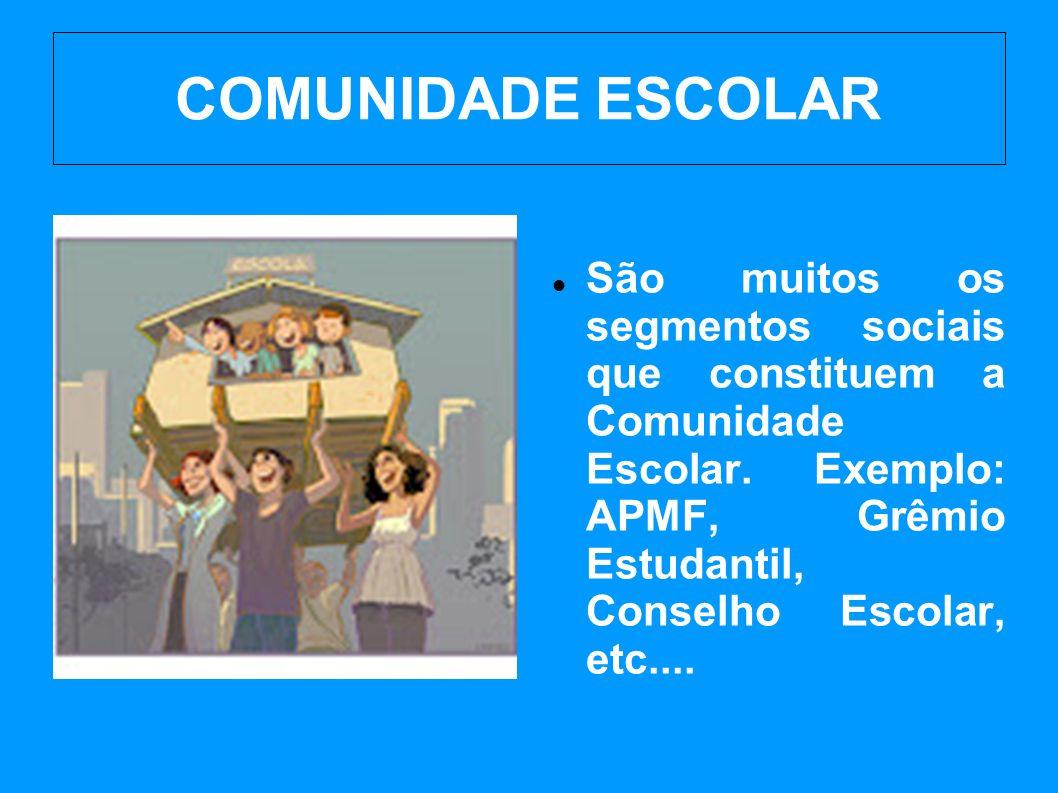 COMUNIDADE ESCOLAR