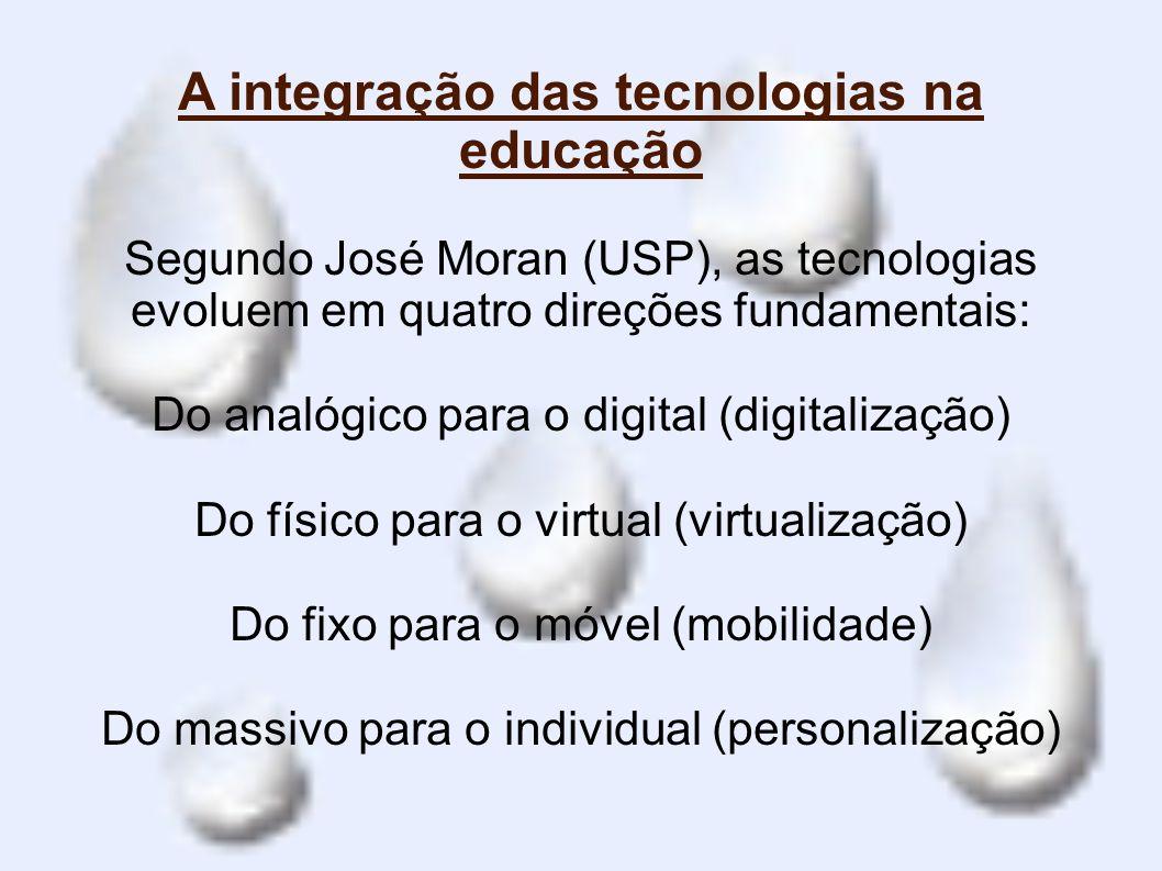 A integração das tecnologias na educação