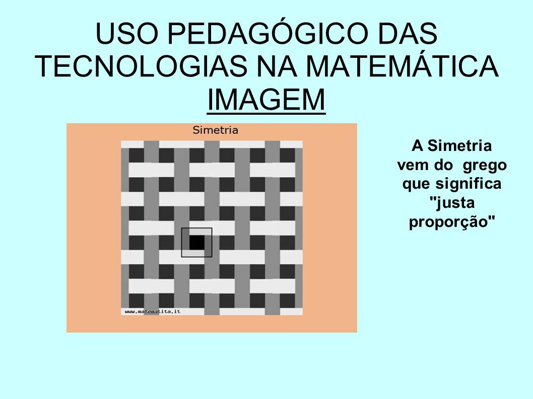 USO PEDAGÓGICO DAS TECNOLOGIAS NA MATEMÁTICA IMAGEM