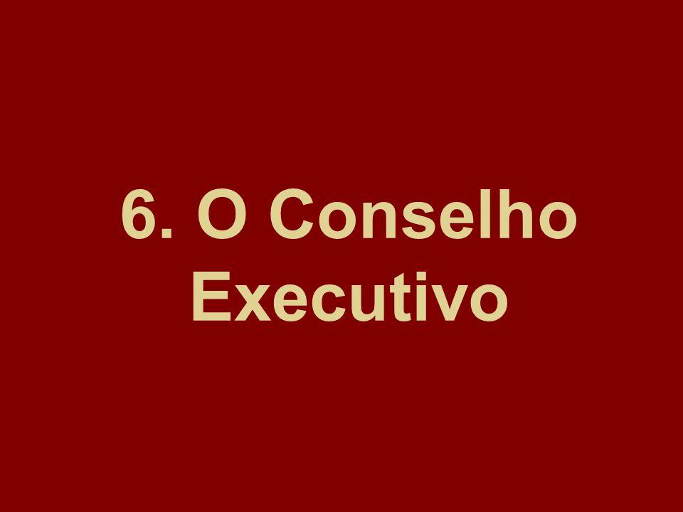 6. O Conselho Executivo