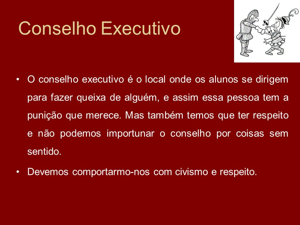 Conselho Executivo