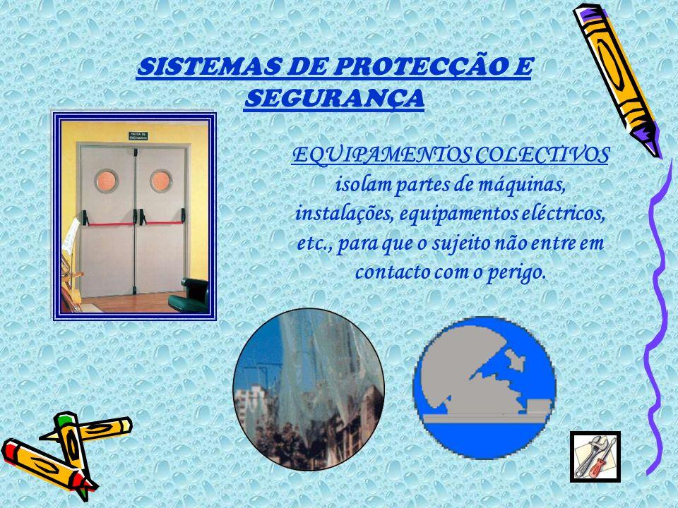 SISTEMAS DE PROTECÇÃO E SEGURANÇA