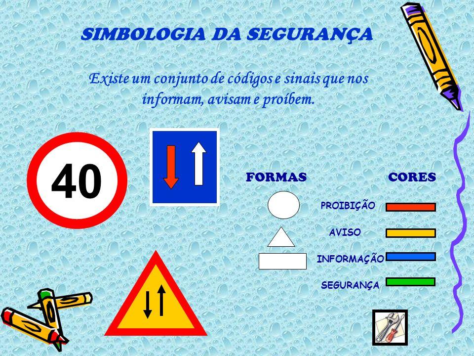 SIMBOLOGIA DA SEGURANÇA