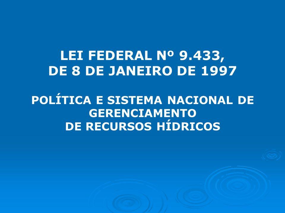 POLÍTICA E SISTEMA NACIONAL DE GERENCIAMENTO