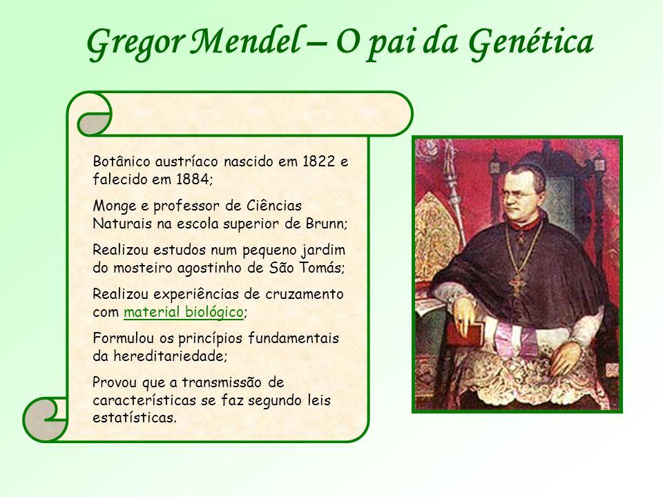 Gregor Mendel – O pai da Genética