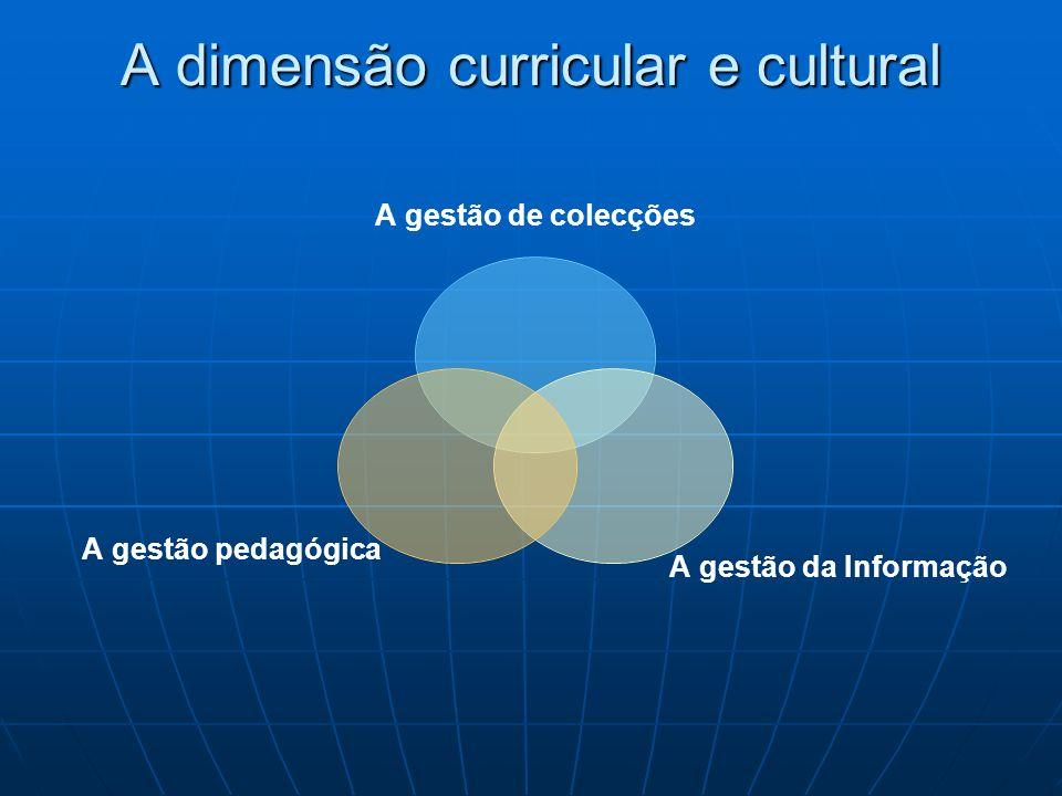 A dimensão curricular e cultural