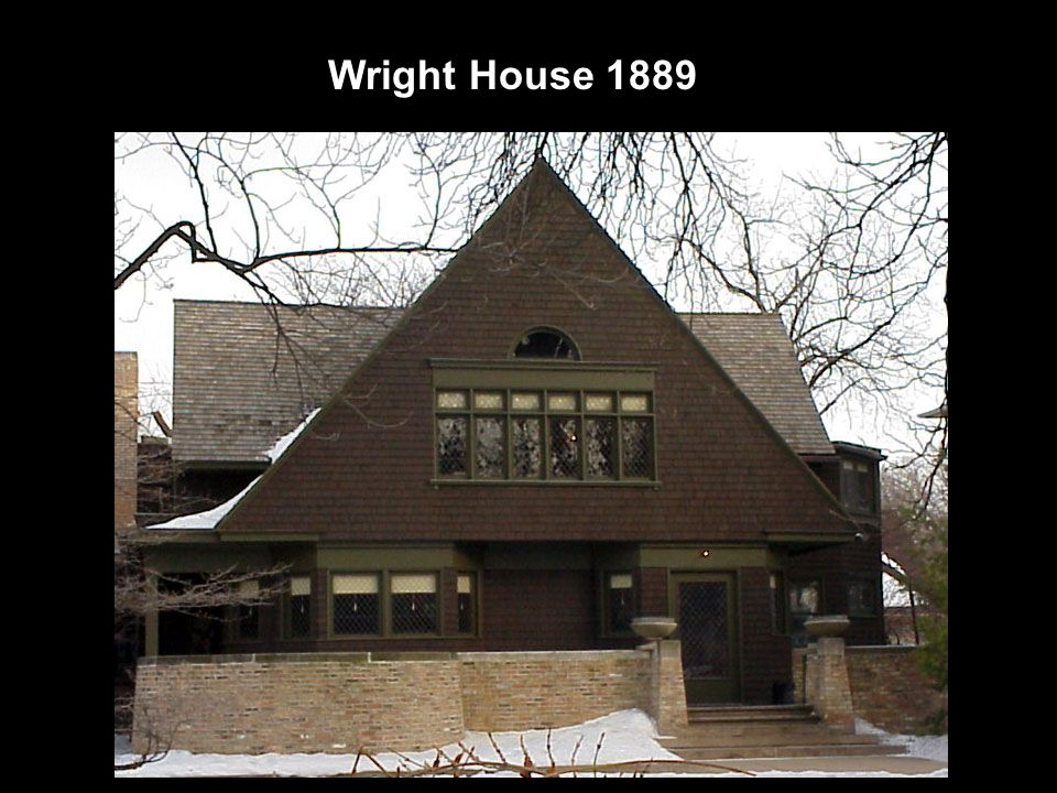 Wright House 1889