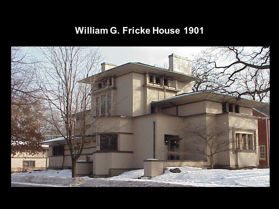 William G. Fricke House 1901