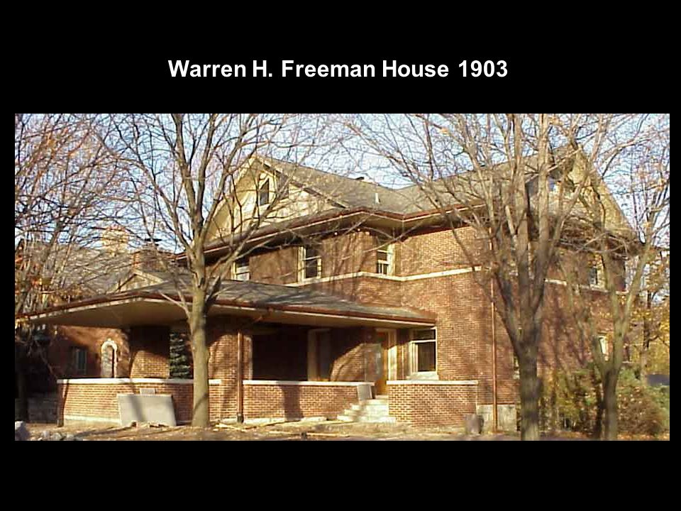 Warren H. Freeman House 1903