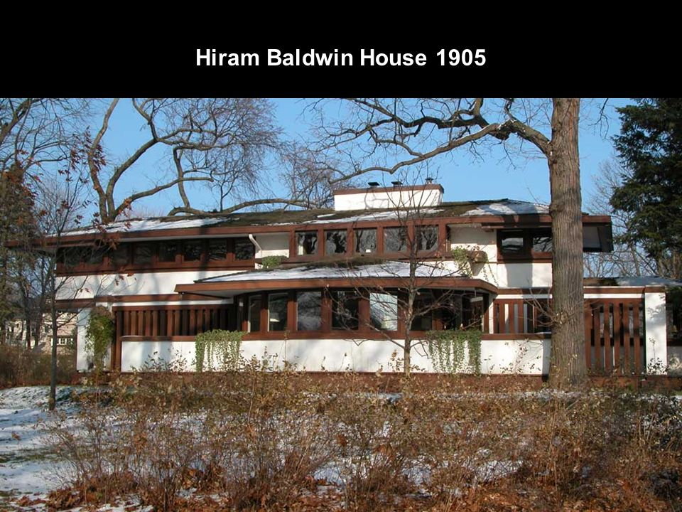 Hiram Baldwin House 1905