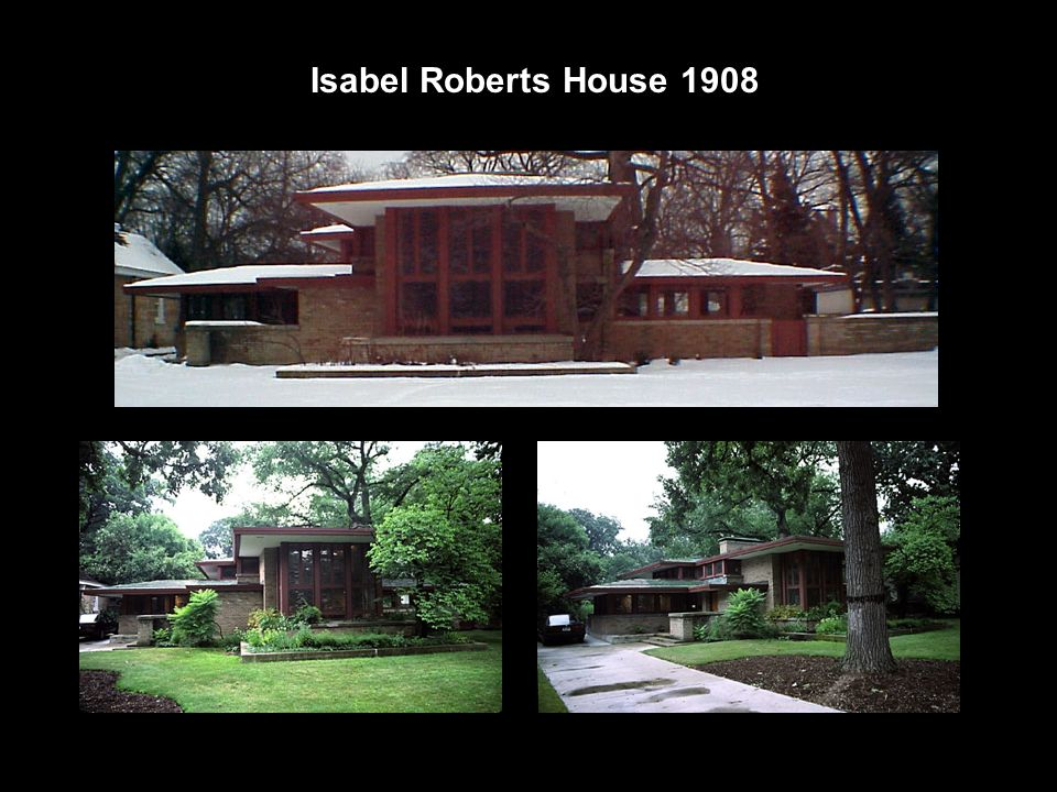 Isabel Roberts House 1908