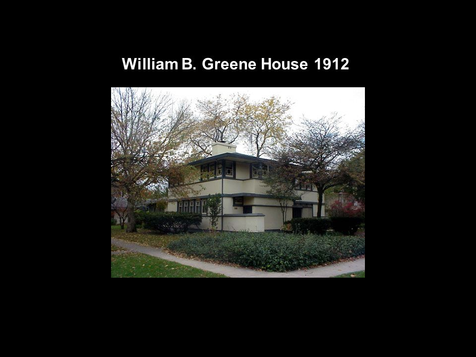 William B. Greene House 1912